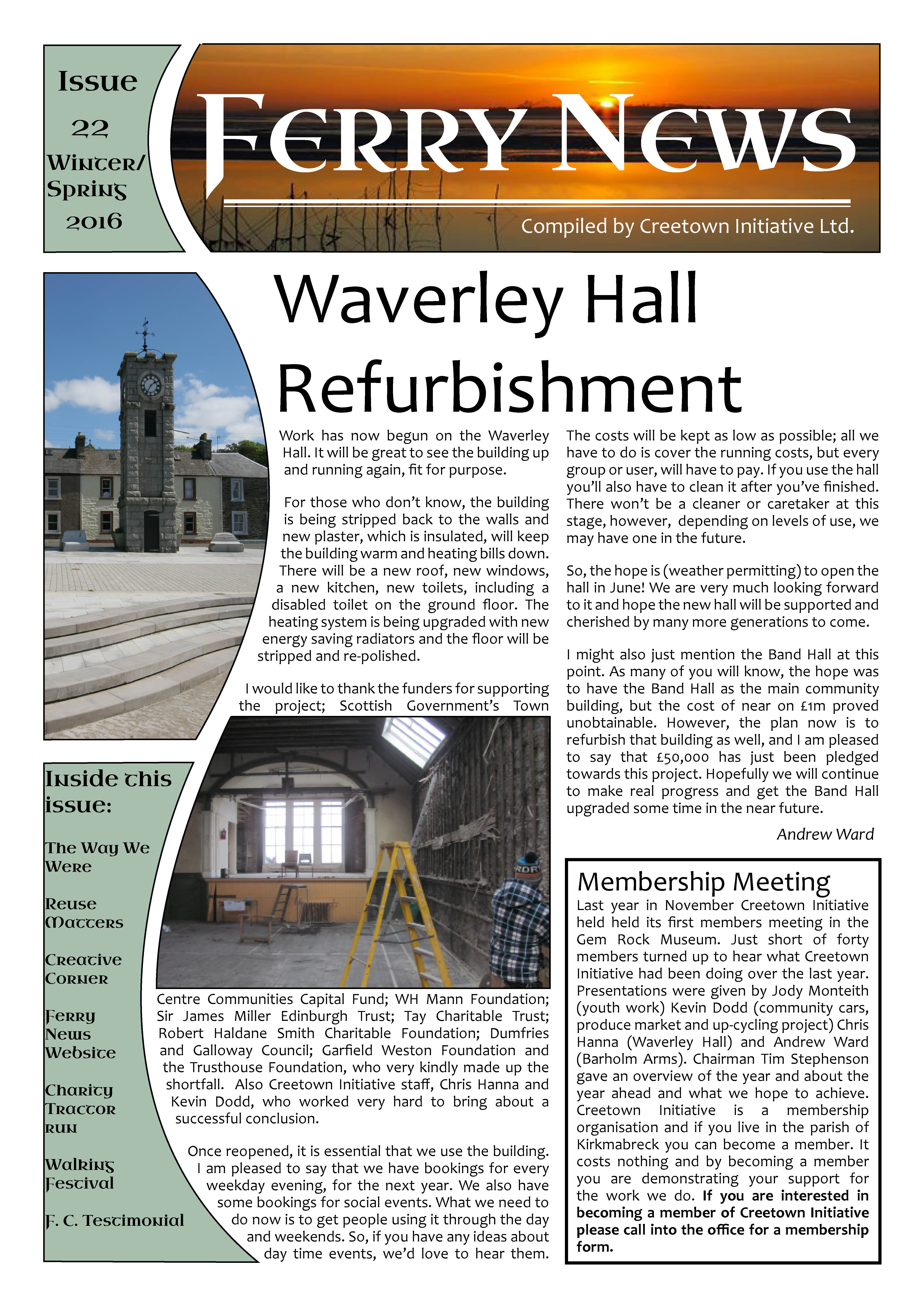 Ferry News Issue 22